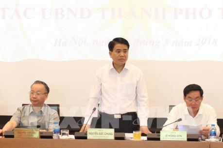 Hà Nội tập trung quản lý đô thị, chủ động ứng phó với các vấn đề mùa mưa bão