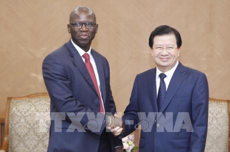 Phó Thủ tướng Trịnh Đình Dũng tiếp Giám đốc WB tại Việt Nam