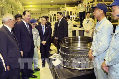 Truyền thông Nhật Bản đưa tin trang trọng về chuyến thăm của Chủ tịch nước Trần Đại Quang