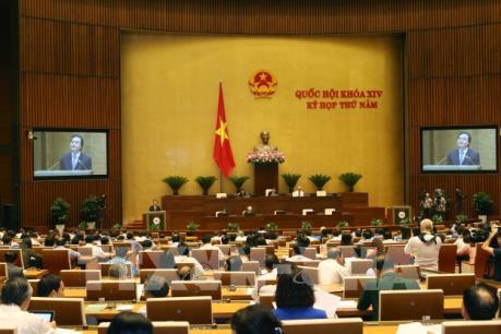 Kỳ họp thứ 5, Quốc hội khóa XIV: Tăng cường kỷ luật trong xây dựng pháp luật