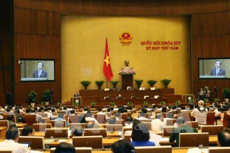 Thông cáo số 9 Kỳ họp thứ 5, Quốc hội khóa XIV