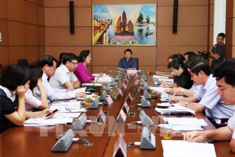 Kỳ họp thứ 5, Quốc hội khóa XIV: Cho ý kiến về xử lý tài sản kê khai không trung thực