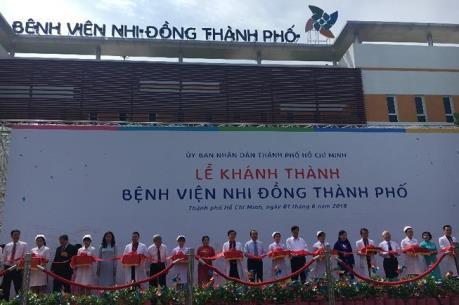 Khánh thành Bệnh viện nhi hiện đại nhất Việt Nam  