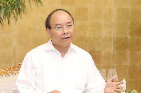 Thủ tướng Nguyễn Xuân Phúc: Có một không khí thi đua để tăng trưởng