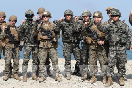 Mỹ-Hàn tránh phô trương các cuộc tập trận chung