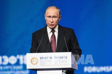 Tổng thống Nga mong muốn EU thống nhất và thịnh vượng
