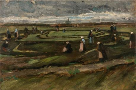 Tranh phong cảnh của danh họa Van Gogh lập kỷ lục thế giới với 7 triệu euro