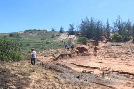 Nhiều bất cập trong quản lý và khai thác titan ở Bình Thuận