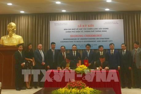 Hà Nội hợp tác với tập đoàn Dell để xây dựng chính quyền điện tử, thành phố thông minh