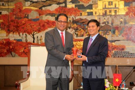 Hải Phòng và Liên bang Micronesia mong muốn hợp tác về lĩnh vực kinh tế biển