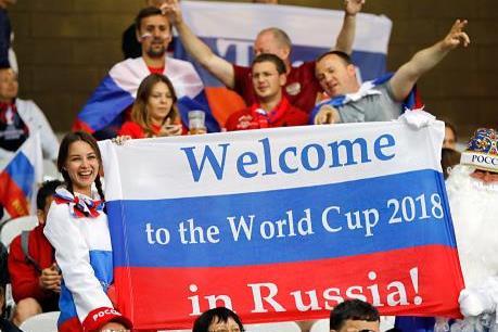 """WORLD CUP 2018: Ngành bán lẻ và dịch vụ khách sạn """"hốt bạc"""""""