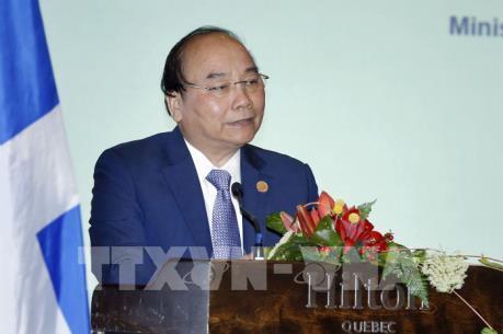 Toàn văn phát biểu của Thủ tướng Nguyễn Xuân Phúc tại Tọa đàm Doanh nghiệp Việt Nam-Canada