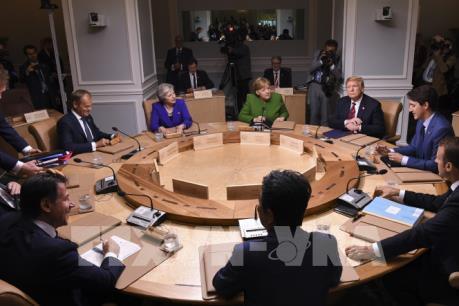 Mỹ không tán thành tuyên bố chung của G7