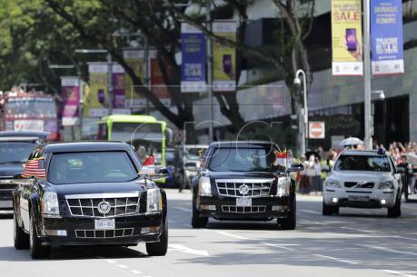 Hội nghị thượng đỉnh Mỹ - Triều Tiên: Tổng thống Mỹ gặp Thủ tướng Singapore