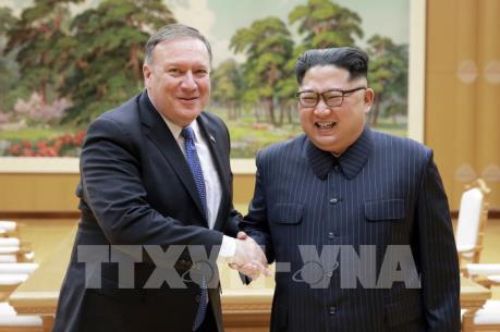 Hội nghị thượng đỉnh Mỹ - Triều: Mỹ đánh giá cuộc gặp quan chức ngoại giao hai nước