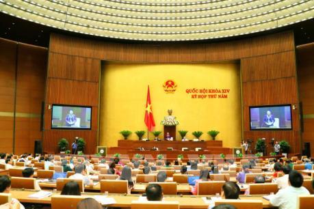 Sáng 12/6: Quốc hội biểu quyết thông qua hai dự thảo Nghị quyết và ba dự thảo Luật