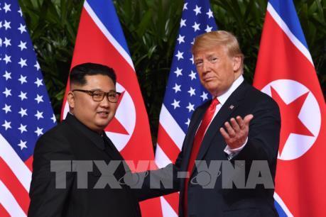 Chùm ảnh về Hội nghị thượng đỉnh Mỹ-Triều: Cái bắt tay lịch sử giữa hai nhà lãnh đạo