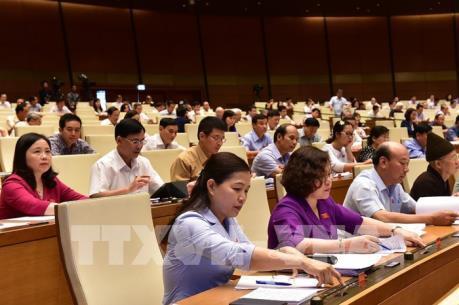 Thông qua dự thảo Nghị quyết về phê chuẩn quyết toán ngân sách nhà nước
