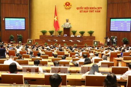 Kỳ họp thứ 5, Quốc hội Khóa XIV: Dự kiến sẽ thông qua hai dự thảo Luật