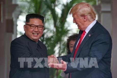 Hội nghị thượng đỉnh Mỹ- Triều Tiên chính thức kết thúc
