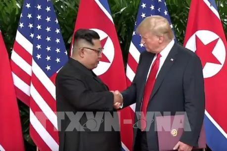 """Triều Tiên cam kết """"phi hạt nhân hóa hoàn toàn Bán đảo Triều Tiên"""""""