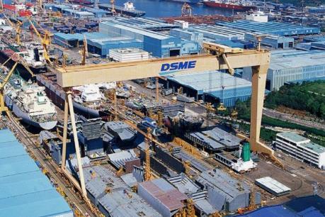 Daewoo Shipbuilding đặt mục tiêu doanh thu 9,1 tỷ USD trong năm 2018