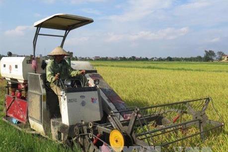 Hải Dương: Cơ giới hoá trong làm đất và thu hoạch đạt trên 90%