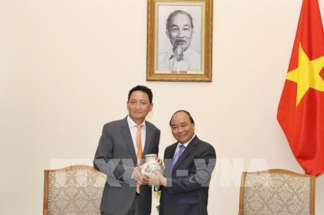 Thủ tướng Nguyễn Xuân Phúc tiếp tân Đại sứ Hàn Quốc tại Việt Nam