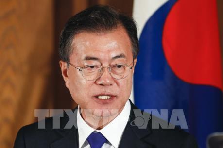 Ngoại trưởng Mỹ hội kiến Tổng thống Hàn Quốc  - Kế hoạch đàm phán 3 bên Mỹ - Nhật - Hàn