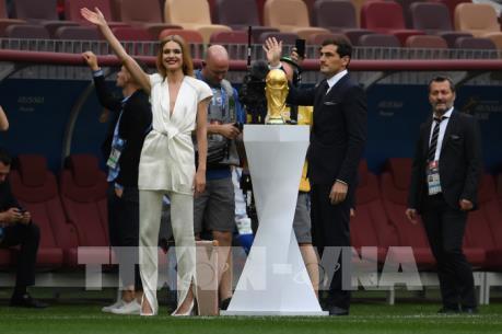 Lễ khai mạc World Cup 2018 ngắn gọn mà sâu lắng