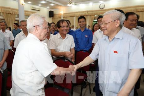 Tổng Bí thư Nguyễn Phú Trọng: Không có mục đích nào khác là vì nước, vì dân