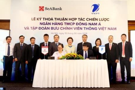 SeABank và VNPT ký thỏa thuận hợp tác chiến lược và toàn diện