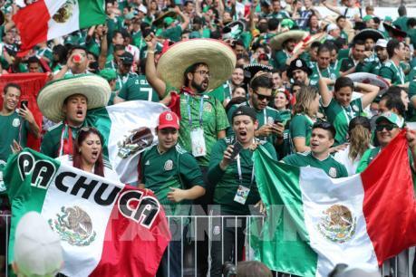 WORLD CUP 2018: Người hâm mộ Mexico chi hơn 4 tỷ USD cho đam mê bóng đá