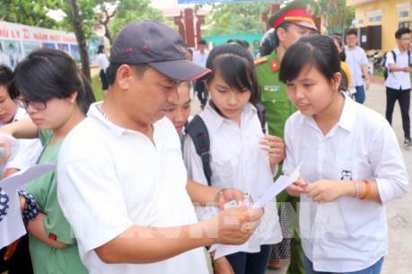 Hướng dẫn cách tra cứu điểm thi vào lớp 10 ở Nghệ An