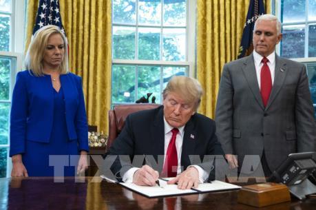 Tổng thống Mỹ ký sắc lệnh hành pháp về thu thập thông tin công dân