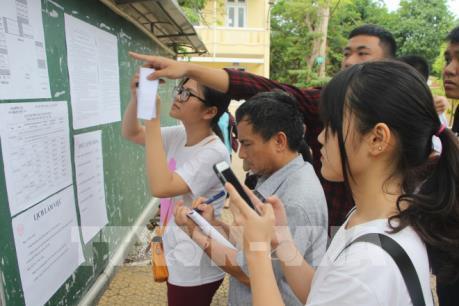 Kỳ thi THPT Quốc gia 2018: Nghệ An kịp thời sửa chữa sai sót về thủ tục cho thí sinh