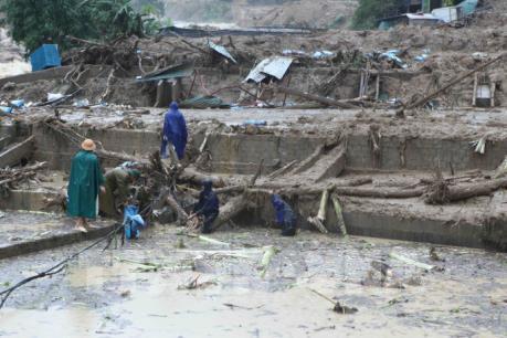 Lai Châu: Thêm 5 người mất tích do mưa lũ