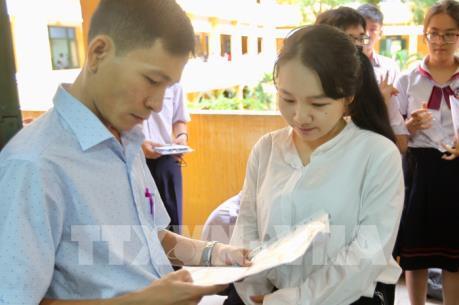 Kỳ thi THPT quốc gia 2018: Kiểm tra công tác tổ chức thi tại Thành phố Hồ Chí Minh