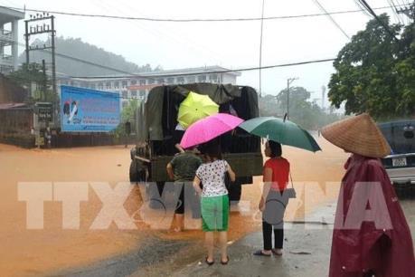 Tập trung khắc phục hậu quả mưa lũ, đảm bảo an toàn cho Kỳ thi THPT 2018