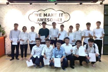 16 sinh viên công nghệ thông tin Việt Nam được lựa chọn sang Nhật Bản làm việc