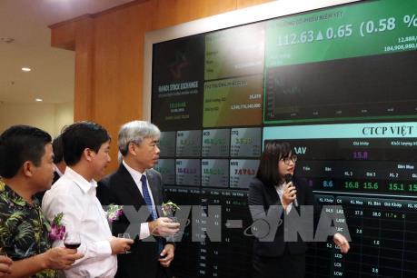 VN - Index tiếp tục mất mốc 960 điểm phiên đầu tháng 12