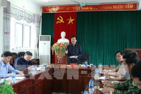 Phó Thủ tướng Trịnh Đình Dũng chỉ đạo khắc phục hậu quả mưa lũ tại Lai Châu