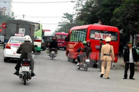 Tổ chức đợt cao điểm kiểm tra đơn vị kinh doanh vận tải