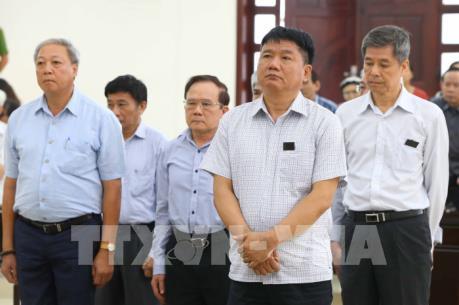 Giữ nguyên tội danh, hình phạt đối với bị cáo Đinh La Thăng