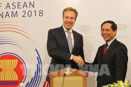 Diễn đàn Kinh tế thế giới về ASEAN năm 2018 sẽ diễn ra tại Hà Nội