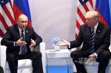 Nga, Mỹ nhất trí tổ chức cuộc gặp thượng đỉnh Putin-Trump ở một nước thứ ba