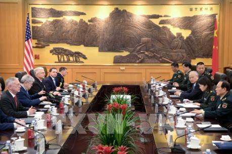 Bộ trưởng Quốc phòng Trung Quốc nhận lời mời thăm Mỹ