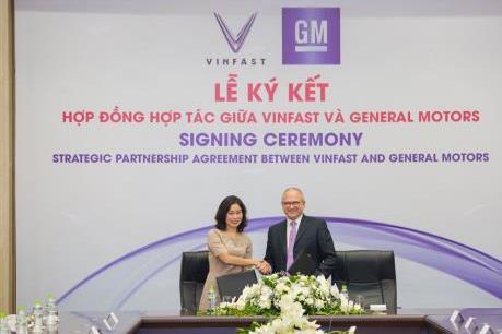 VinFast và General Motors ký hợp tác chiến lược phát triển hai thương hiệu ô tô