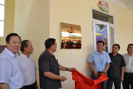 Cao Bằng: Vinataba khánh thành Trường mầm non Đào Ngạn