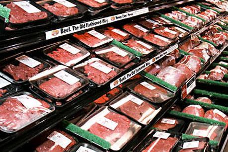 """Đa số thịt bán ở các siêu thị Mỹ bị nhiễm """"siêu khuẩn"""""""